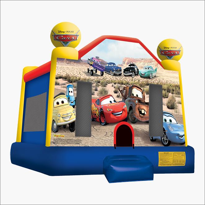 Jumping Castle Hire Gippsland Pixar Cars