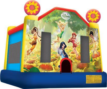 Disney Fairies Jumping Castle
